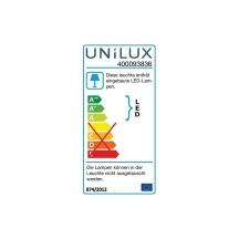 Unilux Lampe De Bureau Led Jazz Blanc Gris Metallique 400093836